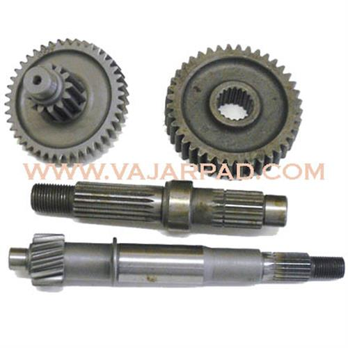 Gearbox shaft wear  mainshaft and layshaft